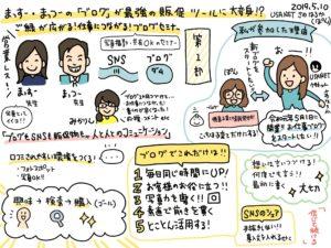 お仕事関係のブログはじめました!まっすー先生&パッケージ松浦さんのブログセミナーレポ