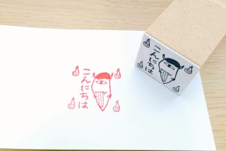 徳島のハンコ屋さん・三美堂さんに、小学生の描いたイラストをハンコにしていただきました!